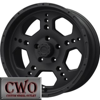 20 Black LM Gatlin Wheels Rims 8x170 8 Lug Ford F250 F350 Super Duty