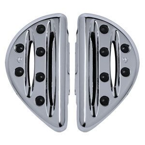 ARLEN NESS CHROME DEEP CUT PASSENGER FLOORBOARDS FOR HARLEY DAVIDSON