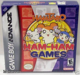 Hamtaro Ham Ham Games Game Boy Advance New 045496734183