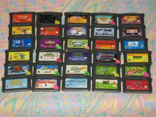 Kids Boys Game Boy Advance Games Your Choice You Pick What You Want J