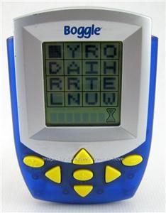 2002 Hasbro Boggle Electronic Handheld Travel Classic Word Game
