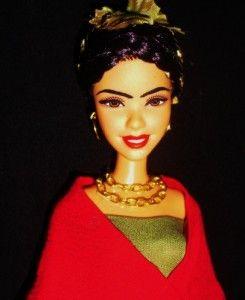 Frida Kahlo ~ Wedding Dress ~ Mexican Artist ~ Hispanic OOAK Barbie