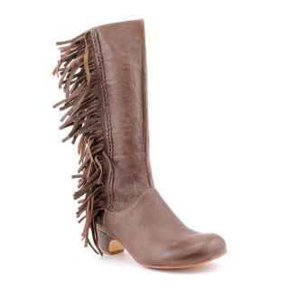 Gee Wawa Toby Womens Size 8 Brown Leather Fashion Knee High Boots