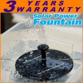 Garden Solar Floating Water Pond Pool Pump Fountain Kit