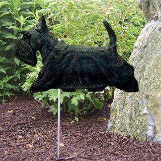 Scottish Terrier Outdoor Garden Dog Sign Figure Brindle