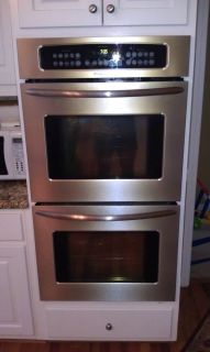 Stainless Steel Frigidaire Double Oven Model Number FEB27T7FCC