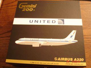 Gemini 200 United A320 Airbus 1 200 Scale 2011 Release