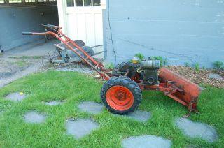 Vintage Montgomery Wards Hoe Trac Garden Tractor Plow