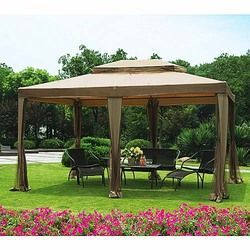 Big Lots Sunjoy 10 x 13 Gazebo Replacement Canopy