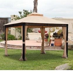 Target Sunjoy Conservatory 10 x 10 Gazebo Replacement Canopy