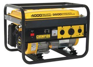 Champion 4000 Watt Portable Gas Generator RV Ready 46533