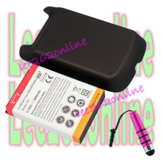 3600mah Extreme Battery + Back Cover For BlackBerry Bold 9790 + Pink