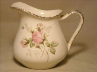 george royal china 22k gold pitcher dish w roses