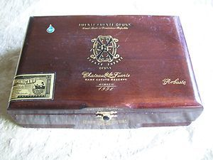 FUENTE OPUSX Robusto OPUS X Wooden empty Cigar box Wood Dominican