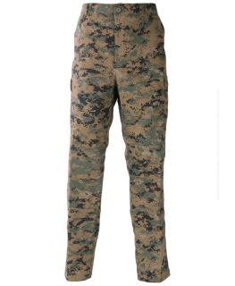 Proper Genuine Gear BDU Pants 60 40 Cotton Poly Ripstop Digi Woodland