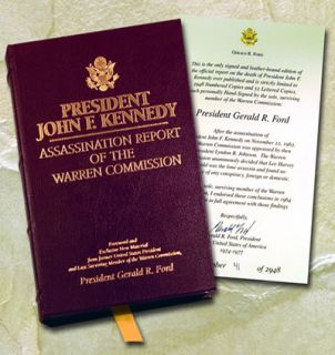 President Gerald Ford Signed John Kennedy Death Warren Commission