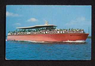 1960s Captain George Sinns Big Flamingo Cruiser Sinns Dock Wildwood