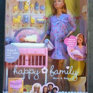 2002 Pregnant Midge Baby Doll Barbie RARE