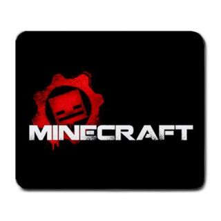 Funny Minecraft Logo Hot PC Games Large Mousepad