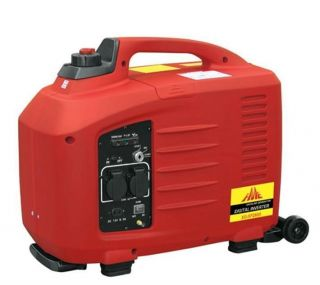2600PORTABLE Gas Generator with Slide Handle Wheels Electric Start