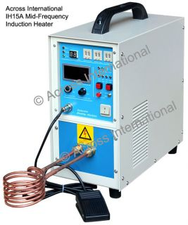Mid Frequency Induction Heater Heating Melting Furnace System