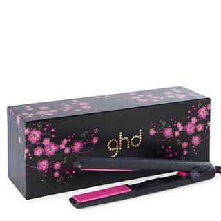 GHD Pink Cherry Blossom 1 Gold Hair Straightener Flat Iron Brand New