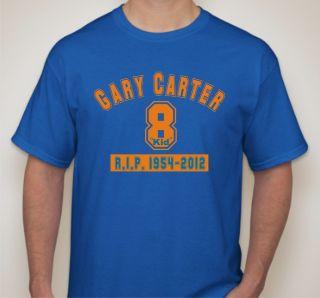 New York Mets Catcher Gary Carter KID R I P 1954 2012 T Shirt