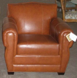 Thomasville Furniture Leather Club Style Chairs Free SHIP