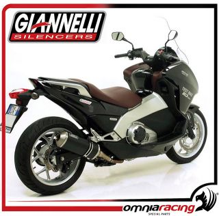Giannelli Exhaust Ipersport Black Line Muffler Honda NC 700 D Integra