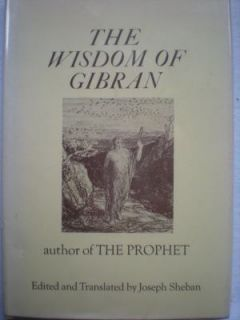 The Wisdom of Gibran Kahlil Gibran Hardcover