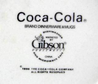 Gibson Coca Cola Coke Traditions Soup Cereal Bowl