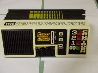 Tyco Computer Control Center for H O Slot Cars Used