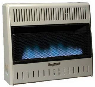 Dual Fuel Vent Free Gas Wall Heater w Thermostat 013204230814