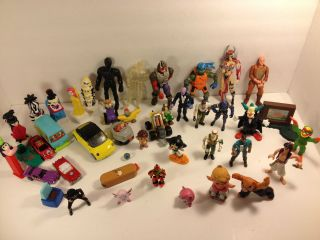 Big Lot of Toys Action Figures TMNT Gi Joe Hot Wheels Toys