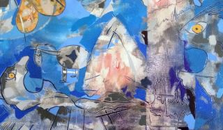 Gacy Abstract Figurative Latin American Tribute to Picasso Guernica