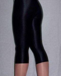 Gilda Marx Shiny Spandex Capri Pants