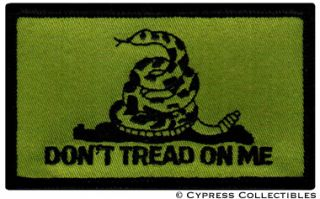 on Me Flag Iron on American Biker Patch New Embroidered Gadsden
