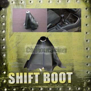 Stitch PVC Leather Manual Gear Shifter Shift Boot Universal New