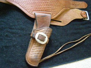 Holster Ruger BearCat Geo George Lawrence Early 60s Marked 77B R BC 4