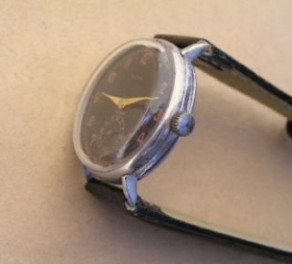 RARE Olma by Ernst Wagner Pforzheim Pre WWII Era German Wristwatch
