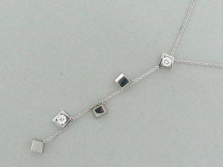 tiffany co gehry torque 18k diamond necklace $ 3475