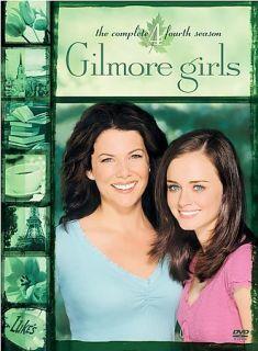 Gilmore Girls The Complete Fourth Season DVD 2005 6 Disc Set