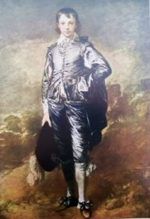is for the framed print blue boy by thomas gainsborough shown this