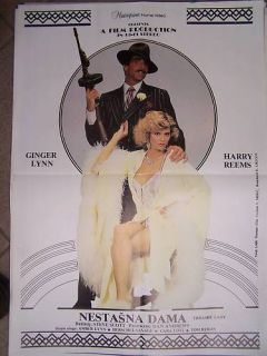 Trashy Lady Ginger Amber Lynn YUGO Movie Poster 1985