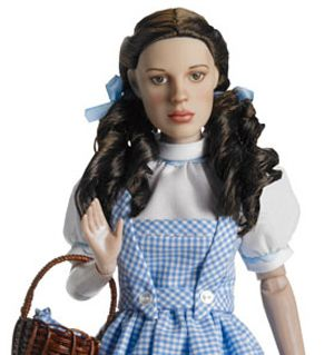 Tonner Dorothy Gale Wizard of oz Judy Garland Sculpt