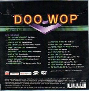 Doo Wop Legends Live Time Life CD Brand New SEALED