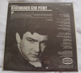 1968 Gene Pitney Shes A Heartbreaker Record Album Vinyl SEALED Shrink