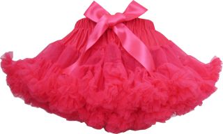 Girls Skirt Dress Multi Layers Tutu Dance Pageant Bow Kids Clothes