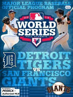 Series Program Team Specific San Francisco Giants NLCS Programs