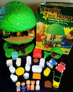 VINTAGE KENNER GENERAL MILLS PALITOY TREEHOUSE TREE TOTS OLD TOY 100%